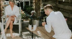 afstand houden bruiloft